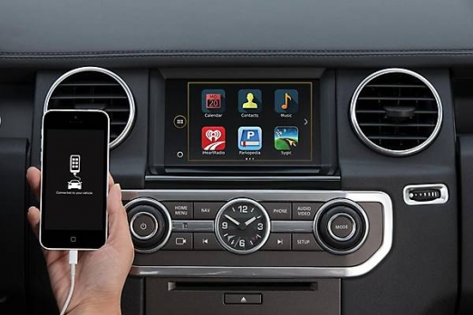 Опция Land Rover InControl Apps